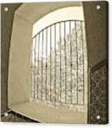 Sedona Series - Through The Window Acrylic Print