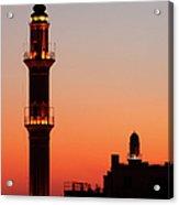 Sehidiye Mosque Minaret Acrylic Print