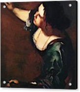 Self Portrait As The Allegory Of Painting 1639 Acrylic Print