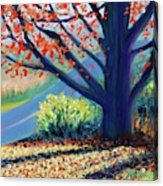 Sentinel By The Road Acrylic Print
