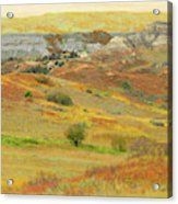 September In The Realm Of West Dakota Acrylic Print