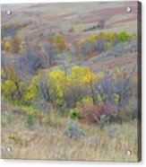 September Perfection On The Western Edge Acrylic Print