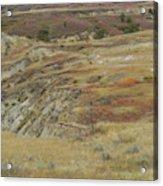 September Reverie In Dakota West Acrylic Print