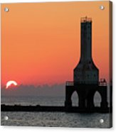 September Sunrise In Port Washington 1 Acrylic Print