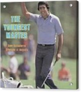 Seve Ballesteros, 1980 Masters Sports Illustrated Cover Acrylic Print