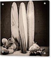 Seventies Surfing Acrylic Print