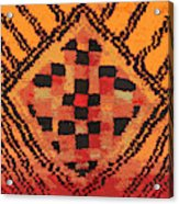 Shaman Tribal Badge Acrylic Print