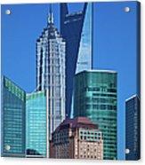 Shanghai Landmark Building Acrylic Print
