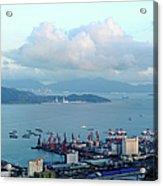 Shenzhen Bay And Shekou Port Acrylic Print