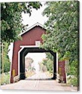 Shimanek Covered Bridge Acrylic Print