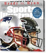 Shootout Super Bowl Li Preview Sports Illustrated Cover Acrylic Print