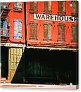 Shuttered Warehouse On The Lower East Acrylic Print