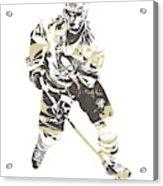 Sidney Crosby Pittsburgh Penguins Pixel Art 23 Acrylic Print