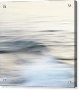 Silent Wave Acrylic Print