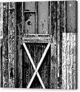Sinclair Door Acrylic Print
