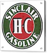 Sinclair Gasoline Acrylic Print