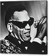 Singer Ray Charles Acrylic Print