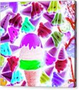 Sinking Into Sweet Uncertainty Acrylic Print