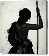 Female Samurai - Onna Bugeisha Acrylic Print
