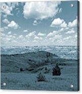 Sky And Prairie Dance Acrylic Print
