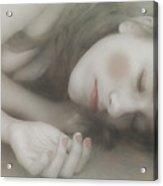 Sleeping Doll Acrylic Print