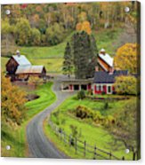 Sleepy Hollow Farm Acrylic Print