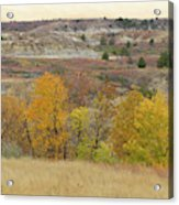 Slope County September Splendor Acrylic Print