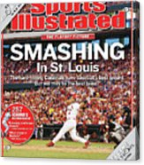 Smashing In St. Louis Sports Illustrated Cover Acrylic Print