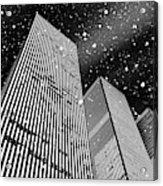 Snow Collection Set 03 Acrylic Print