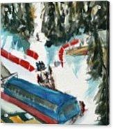 Snowbird Lift Study Acrylic Print