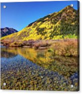 Snowmass Creek Acrylic Print