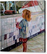 Soda Girl Acrylic Print