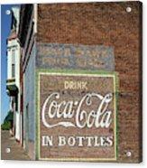 Soft Drink Mural Acrylic Print