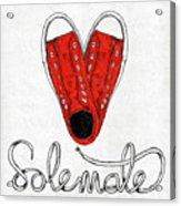 Sole Mate Acrylic Print