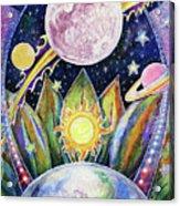 Solstice Moon Acrylic Print