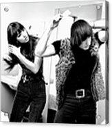 Sonny & Cher Portrait Session Acrylic Print