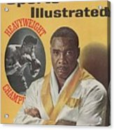 Sonny Liston, Heavyweight Boxing Sports Illustrated Cover Acrylic Print