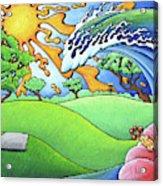 South Texas Disc Golf Acrylic Print
