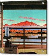 Spa Hotel Morning - Digital Remastered Edition Acrylic Print