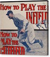 Spalding Baseball Guide Acrylic Print
