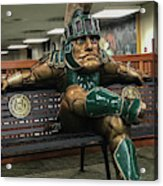 Sparty At Rest Acrylic Print