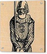 Spear Man Acrylic Print