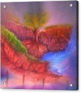 Spec In The Galaxy Acrylic Print