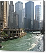 Spectacular Chicago Downtown Acrylic Print