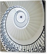 Spiral Staircase, The Queens House Acrylic Print