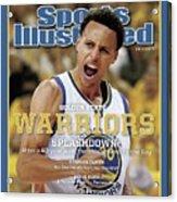 Splashdown Golden State Warriors 2015 Nba Champions Sports Illustrated Cover Acrylic Print