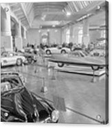 Sports Cars On Display At Henry Ford Acrylic Print