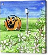 Spring-o-ween Acrylic Print