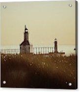 St. Joseph Lighthouse - Digital Pencil Acrylic Print