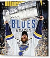 St. Louis Blues, 2019 Nhl Stanley Cup Champions Sports Illustrated Cover Acrylic Print